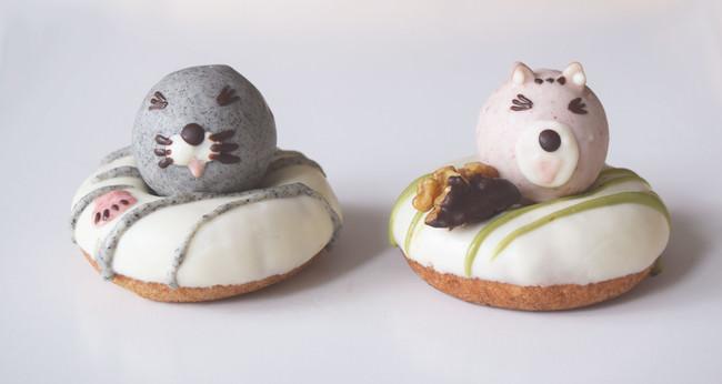 【一部店舗のみ限定販売】ぼのぼのコラボドーナツ。ぼのぼのとシマリスくんの笑顔Ver.が9月21日より登場【フロレスタ】