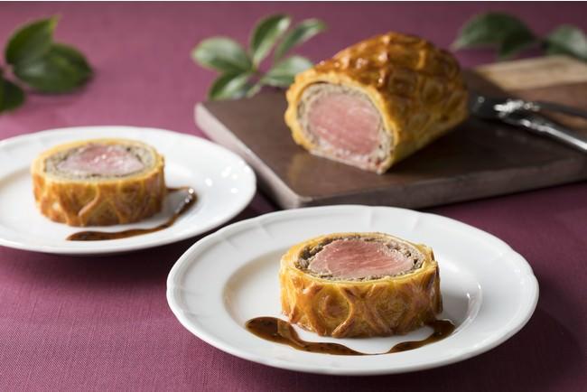 牛フィレ肉のパイ包み焼き トリュフソース