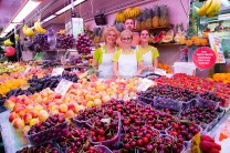 Parada fruta Mercado Central de Valencia