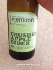 Monteith's Apple Cider.
