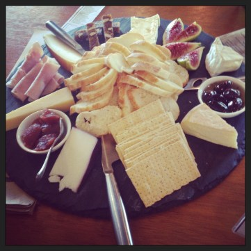 The 'Gather and Share' Cheese Tasting Platter ($57.50)