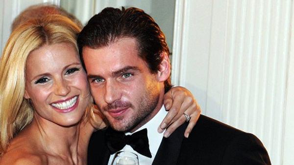 Tomaso Trussardi und seine Frau Michelle Hunziker