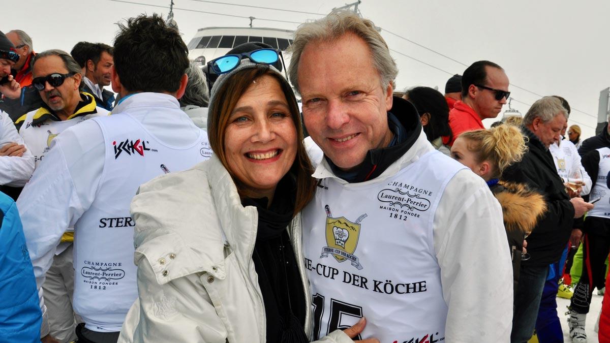 2-Sterne-Koch Bobby Bräuer, München und seine Frau Stephanie