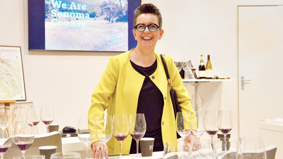 Macht PR für alles, was mit Wein zu tun hat: Barbara Wanner, Organize, Karlsruhe