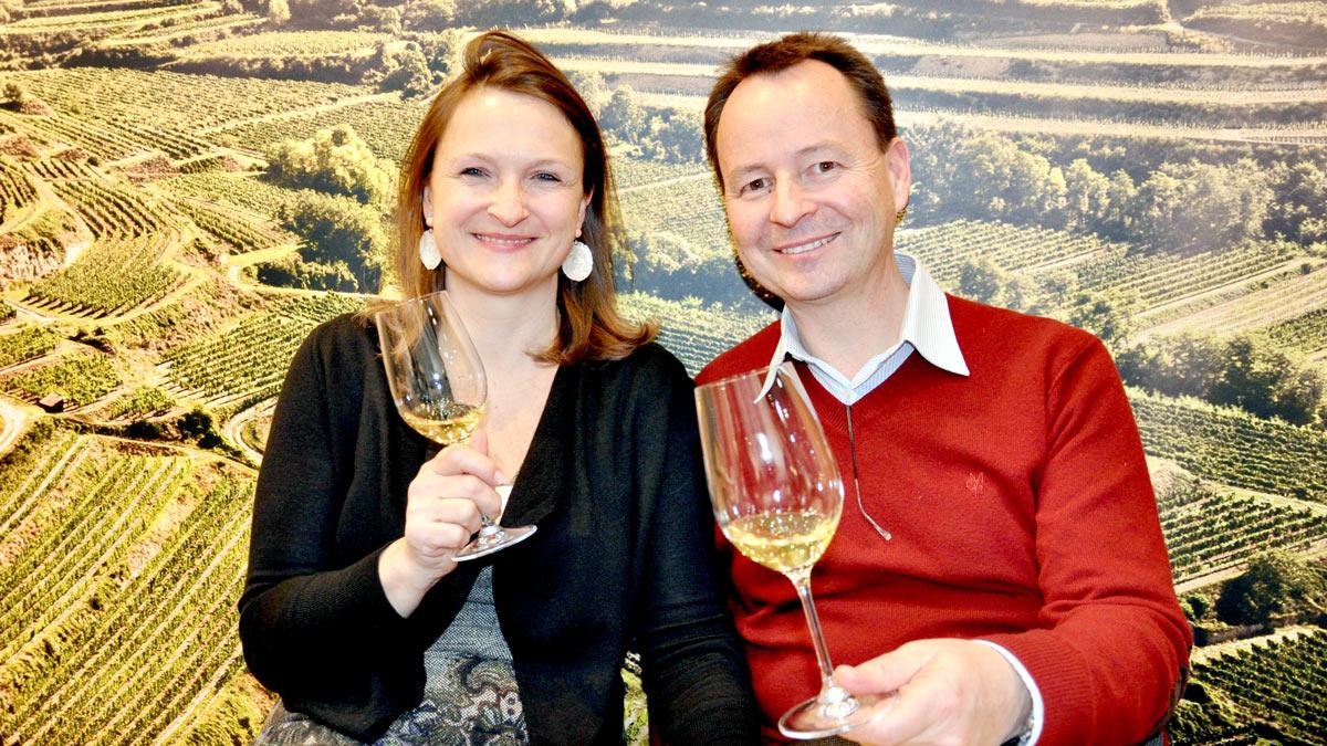Ihre Weine können sich mit den Besten der Welt messen: Eva und Michael Moosbrugger, Schloss Gobelsburg, Gobelsburg/Österreich