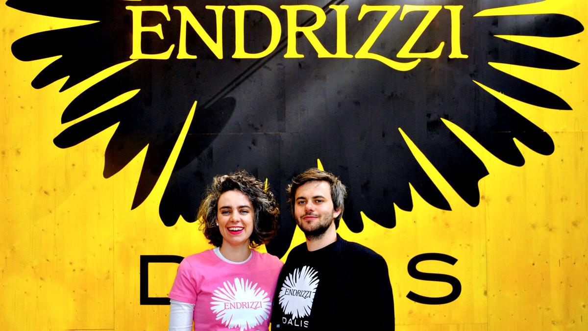 Lisa Maria Endrizzi und Torben Grabowski