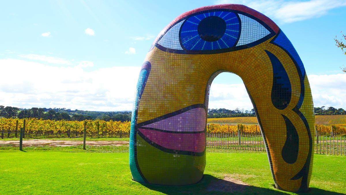 Weingut und Kunstpark der Familie Gandel