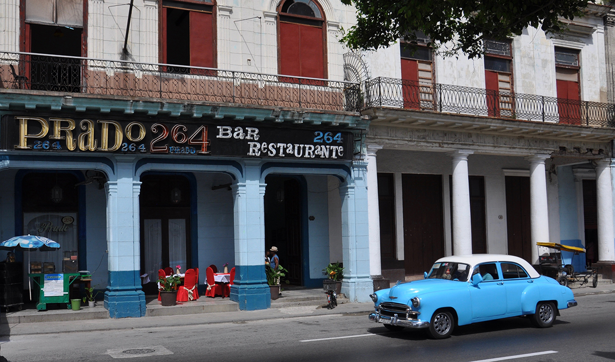 Passeo del Prado 264: Ein Platz zum Beobachten (nicht zum Essen)