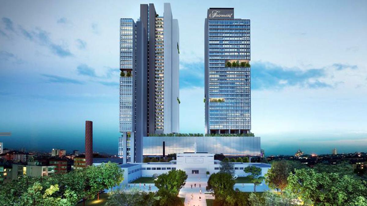 Im 5-Sterne-Hotel Fairmont im Stadtteil Mecidiyekoy befindet sich das beste Restaurant von Istanbul. Foto Hotel Fairmont