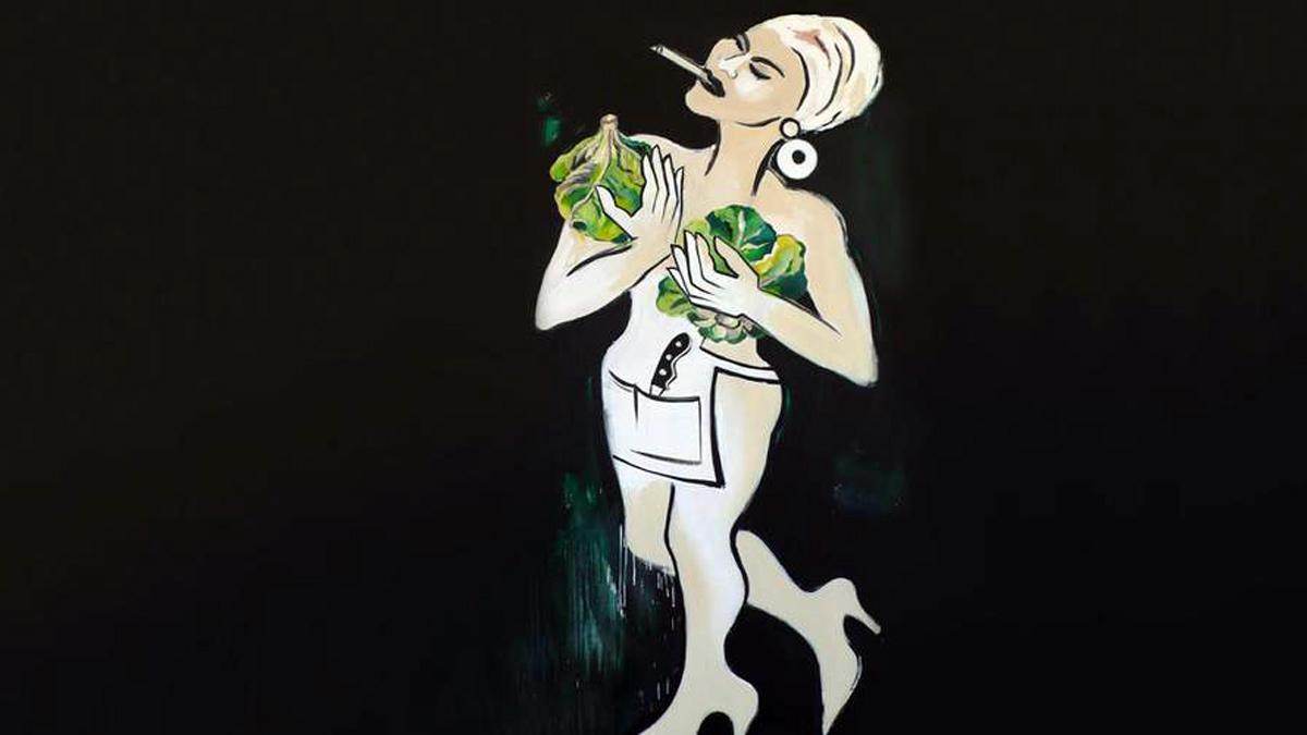 Bild von der Künstlerin Elvira Bach