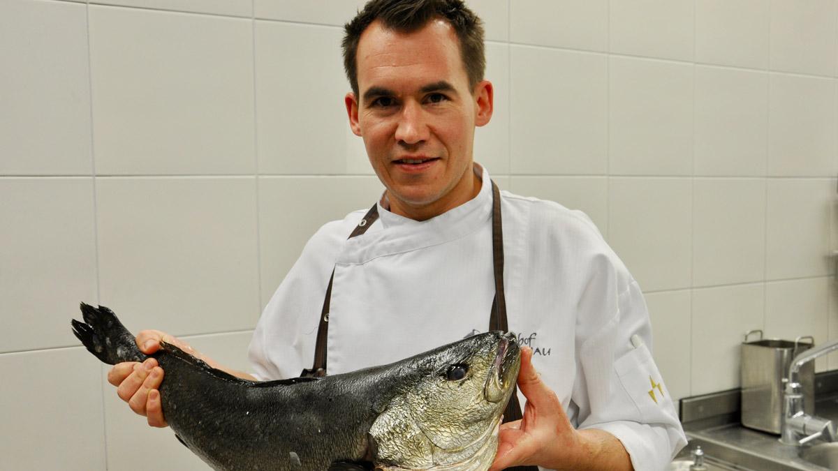 Chef de Cuisine: Claus Gromotka. Foto HvF