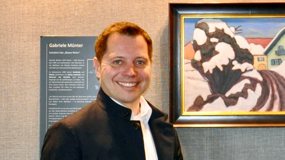Generaldirektor Christian Bär: Immer gut gelaunt für seine Gäste da. Foto HvF