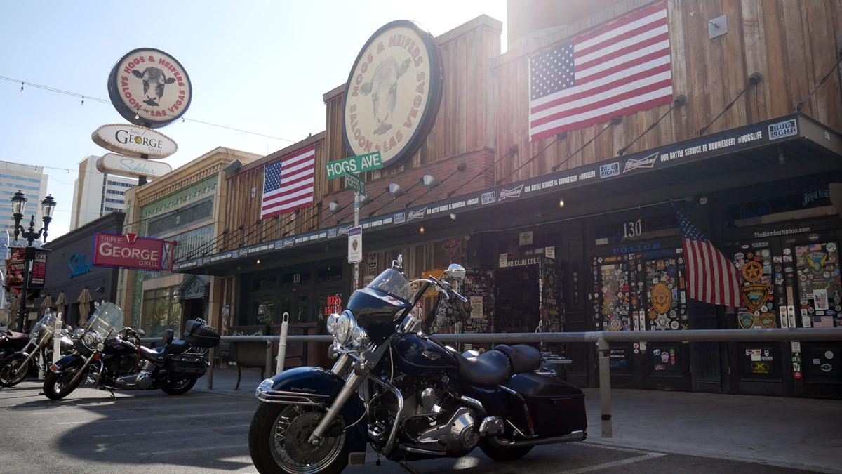 Downtown Las Vegas. Foto JW
