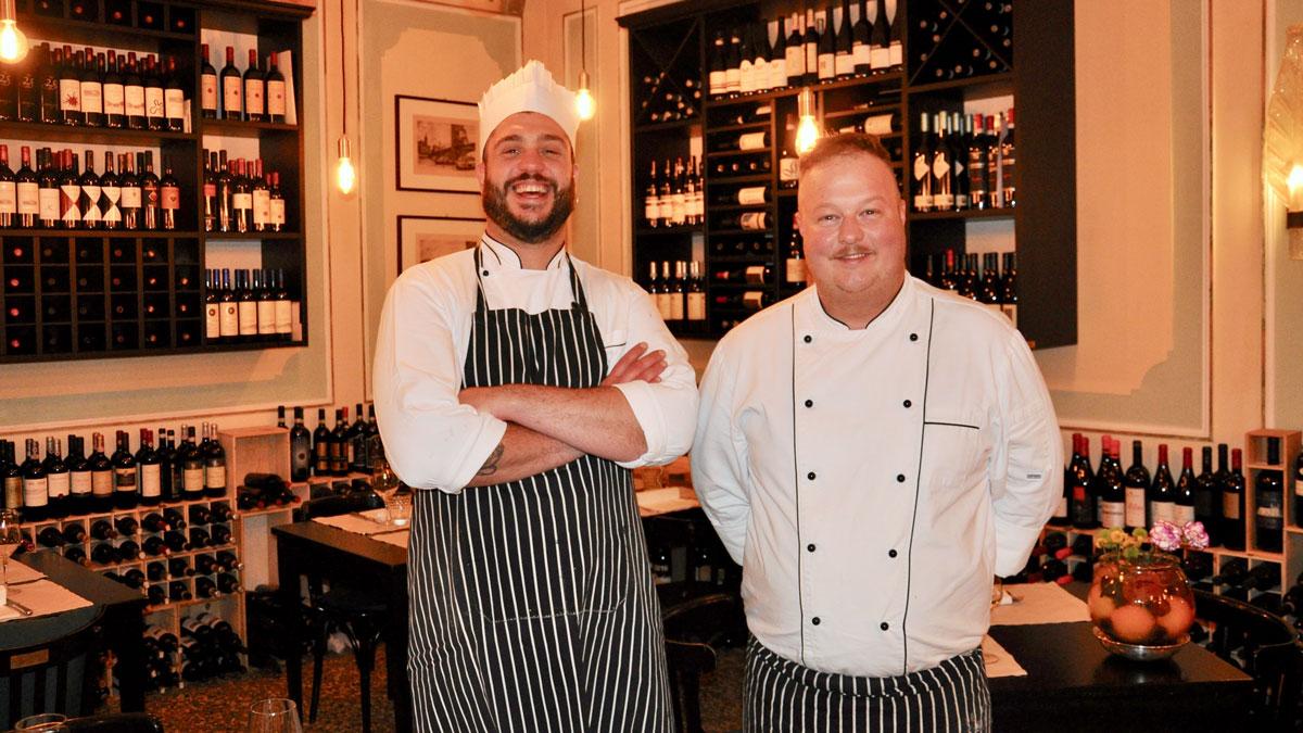 Bistro Caffè Dante: Marco und Flavio kochen französisch-italienisch. Foto WR