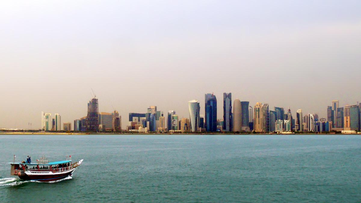 Blick vom Museum für Islamische Kunst auf Doha. Foto JW