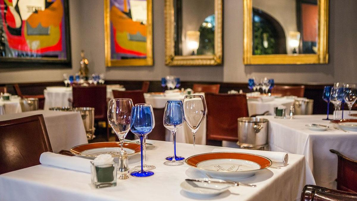 Il Desco: Gehört zu den besten (und teuersten) Restaurants in Verona.