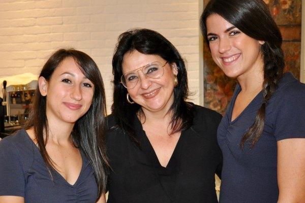 Restaurant A'Cuncuma: Valentina, Donatella, Giorgia (v.li.). Foto HvF