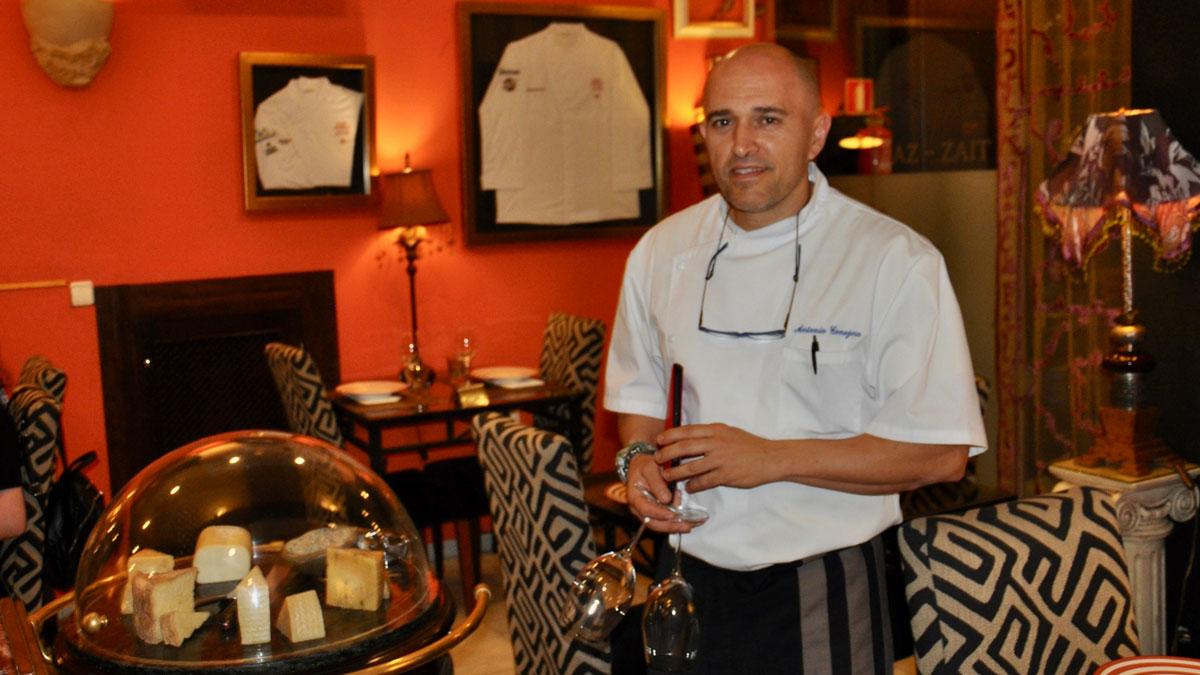 AZ-Zait: Antonio Conejero ist kreativer Küchenchef und aufmerksamer Gastgeber Foto WR