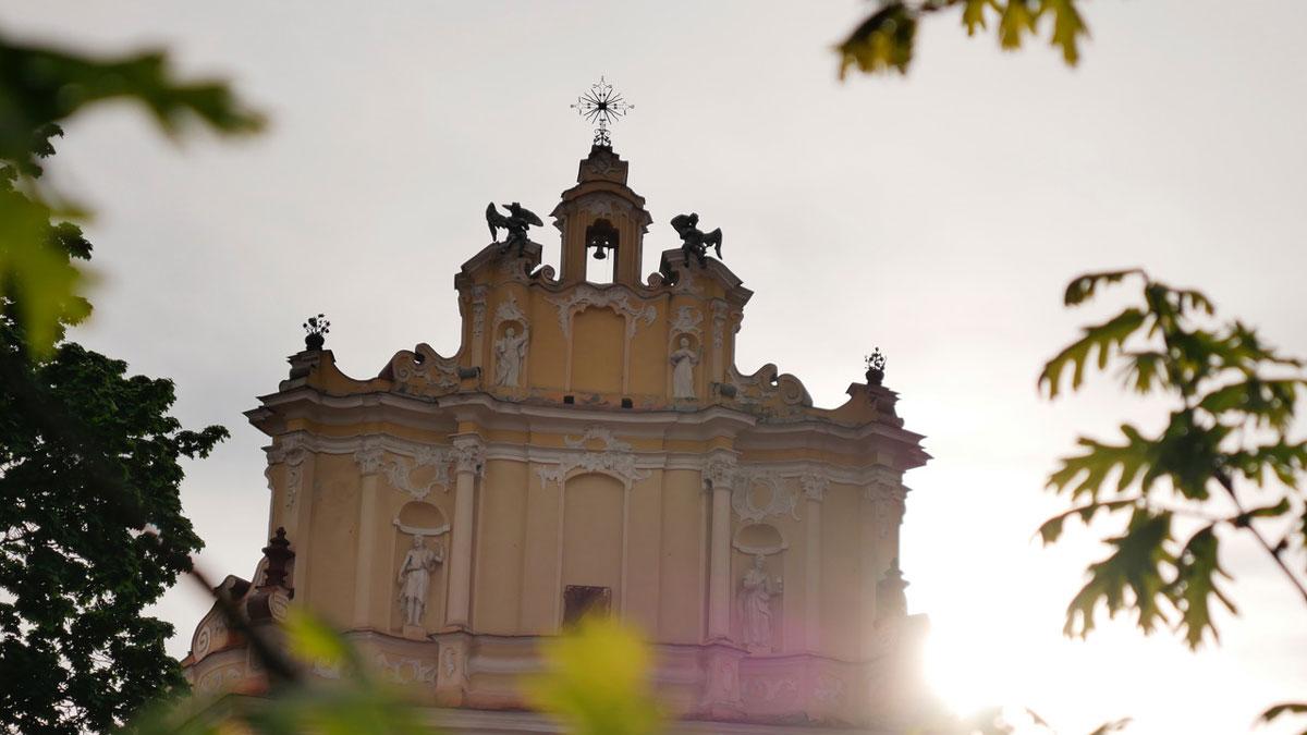 Über 50 Kirchen stehen in Vilnius. Foto JW