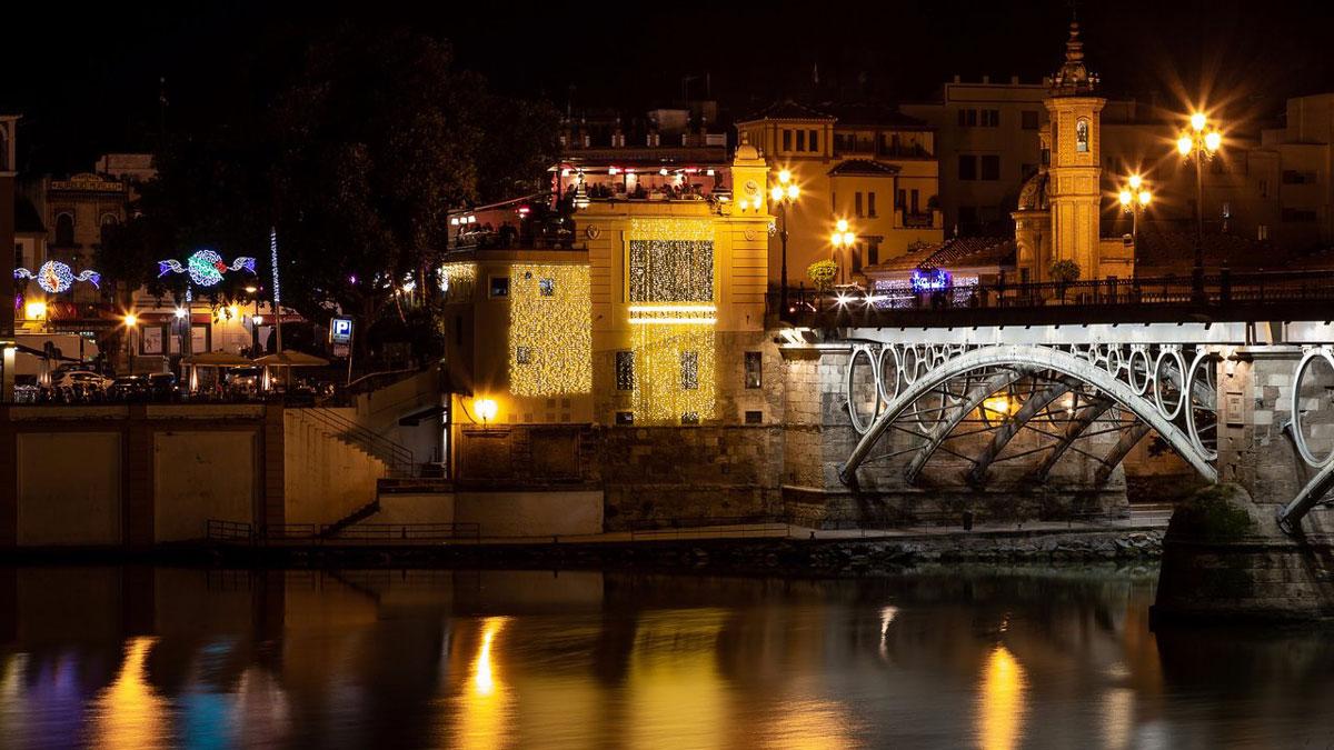 Restaurant Mariatrifulca an der Brücke Puente de Isabel II Foto Mariatrifulca