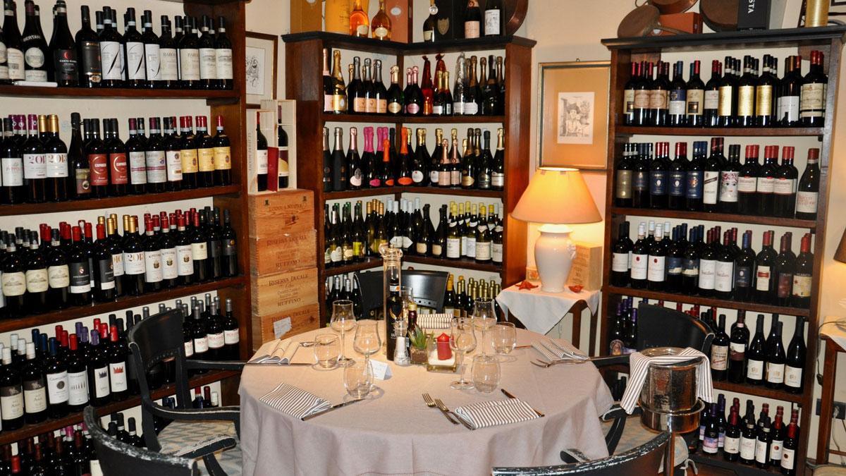 """""""All'Olivo"""": Gehört zu den besten Restaurants in Lucca. Foto WR"""