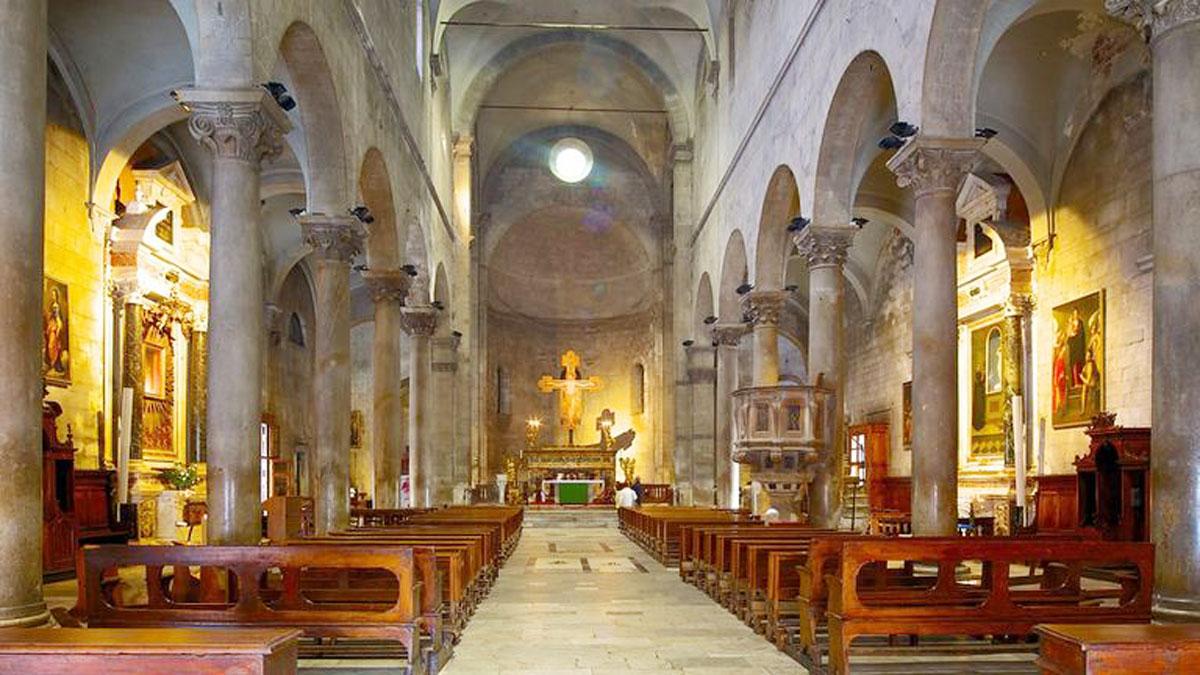 Lucca. Der Innenraum von San Michele del Foro. Foto Lucca tourism