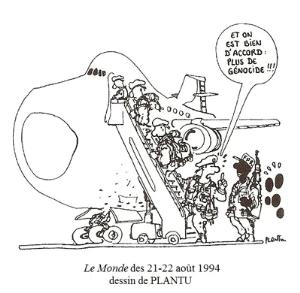 """Dessin: Plantu, """"double génocide"""" - Le Monde"""