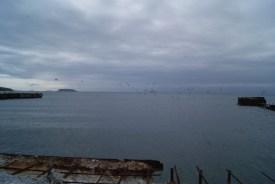 Au sud de l'île Popova, lors de ma journée loose sur cette île toute délabrée