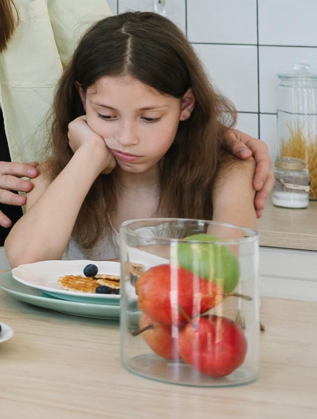 néophobie alimentaire. Refus de manger des aliments inconnus
