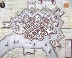 Kaart Heusden Blaeu