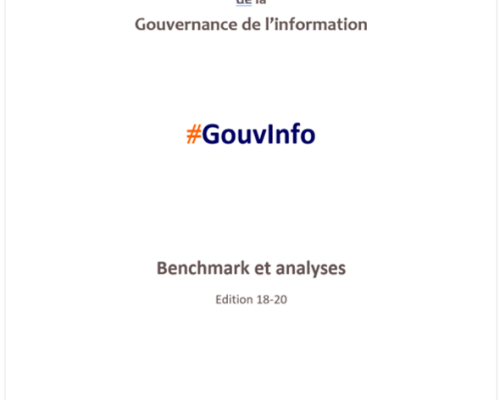 Benchmark observatoire #GouvInfo (édition 18/20 – 2020)