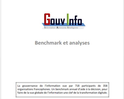 Benchmark observatoire #GouvInfo (édition 15/16 – 2016)