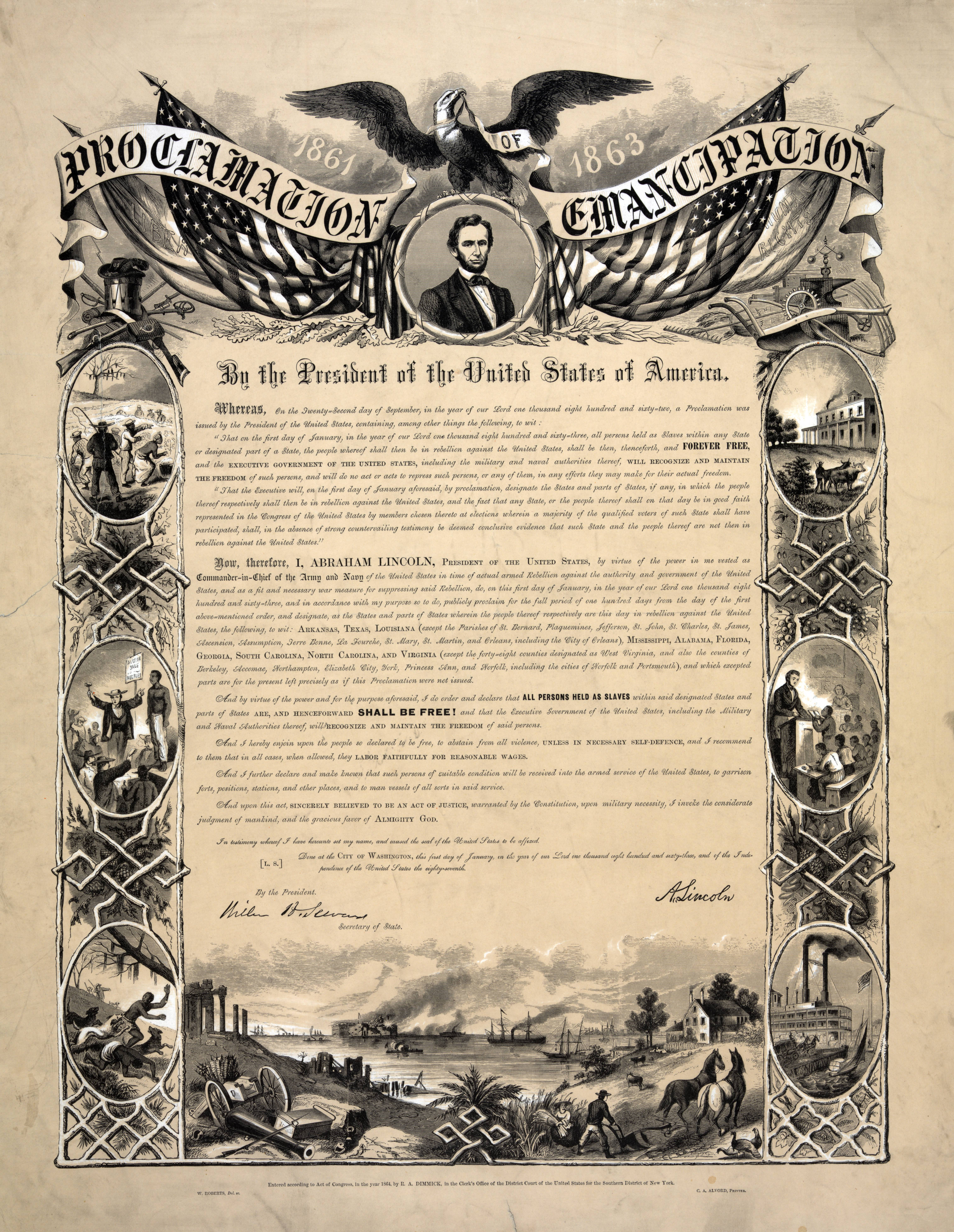 The Emancipation Proclamation And Its Role In Gpo And