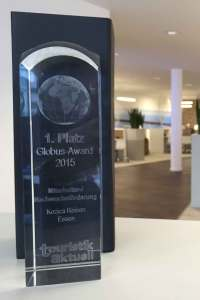 Globus-Award: 1. Platz
