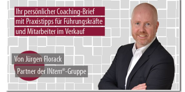 Jürgen Florack - Coaching-Brief