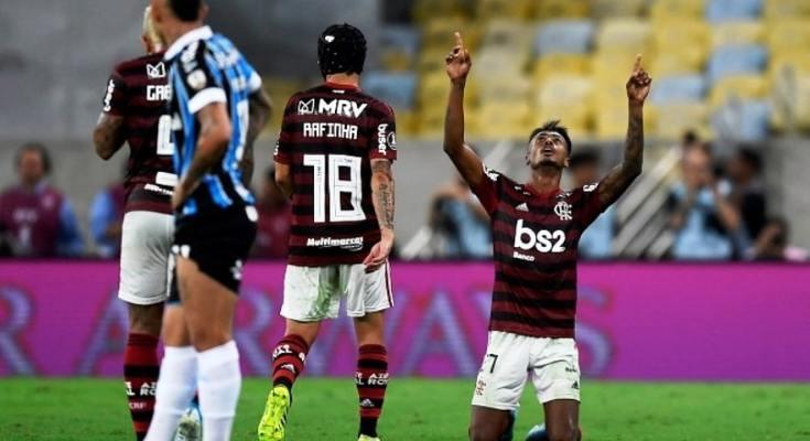 Flamengo goleia Grêmio e está na final da Copa Libertadores