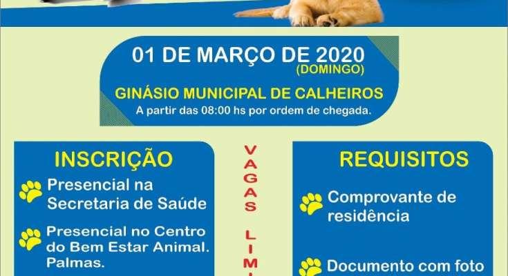 GOVERNADOR CELSO RAMOS PROMOVE CAMPANHA DE CASTRAÇÃO GRATUITA