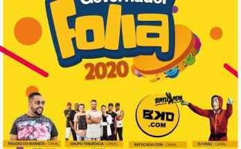 CONFIRA A PROGRAMAÇÃO DO GOVERNADOR FOLIA 2020