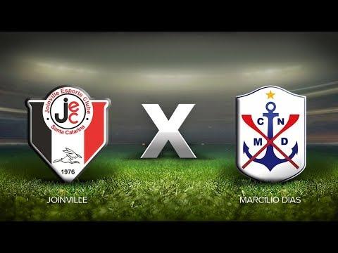 [AO VIVO] Joinville x Marcílio Dias (Catarinense 2020)