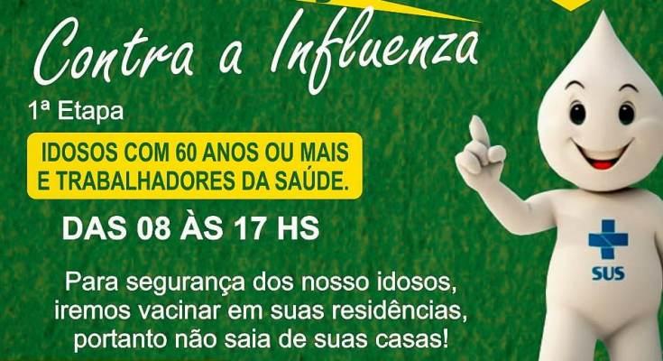 Governador Celso Ramos adota nova estratégia para campanha de vacinação contra a gripe