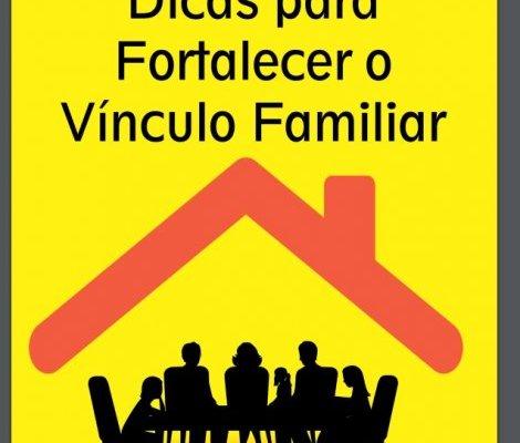 caderno com sugestões de atividades para toda a família durante a pandemia