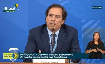 07/04 - #AoVivo Coletiva de imprensa: Governo Federal detalha pagamento do auxílio emergencial aos Brasileiros
