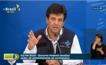 02/04 – #AoVivo Coletiva de Imprensa: Governo Federal atualiza ações de enfretamento ao coronavírus