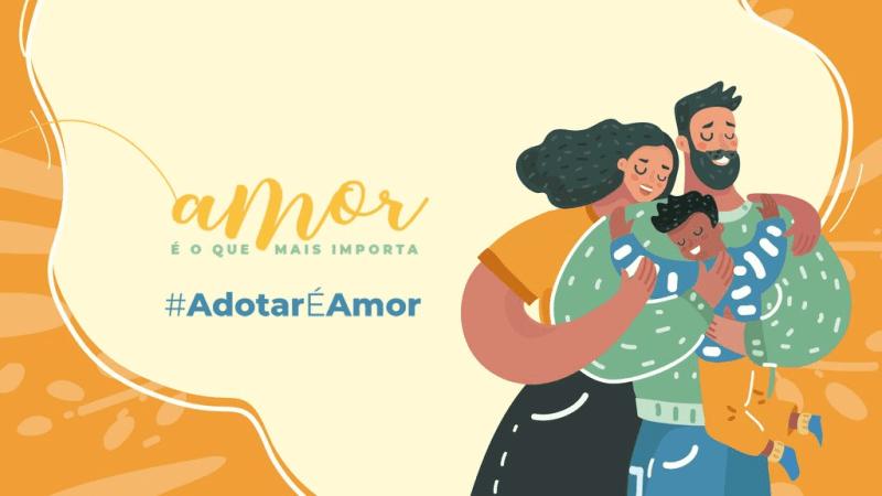 Tuitaço e lives marcam campanha no Dia Nacional da Adoção