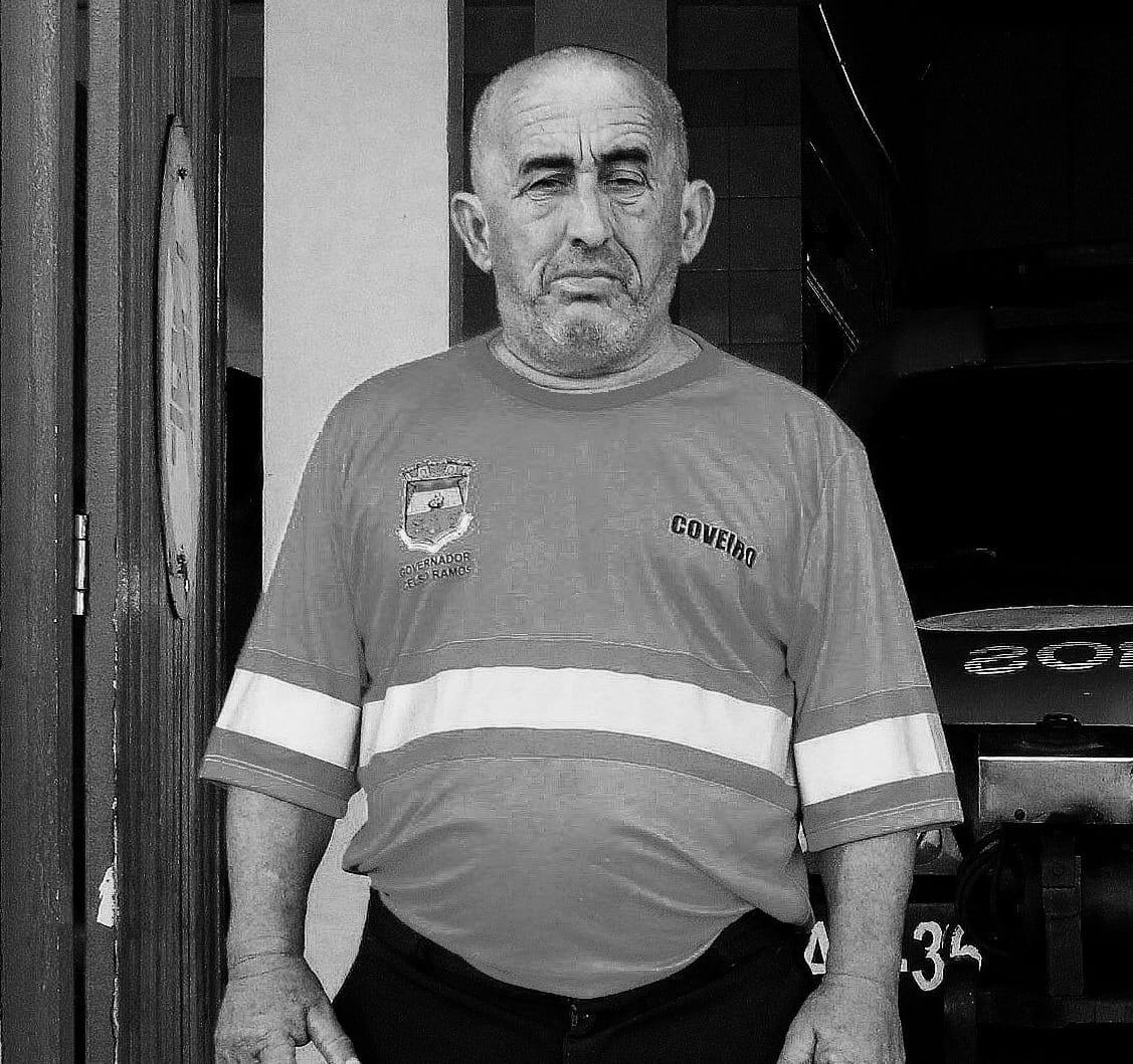 Nota de Pesar da Prefeitura de Governador Celso Ramos pelo falecimento do servidor público Antônio Jaime Engracia