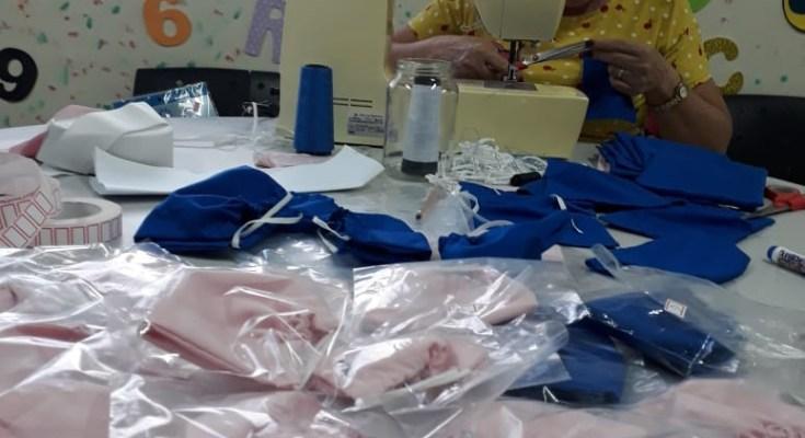 Bela iniciativa: CRAS do município de Governador Celso Ramos confecciona máscaras para crianças do Serviço de Convivência e Fortalecimento de Vínculos
