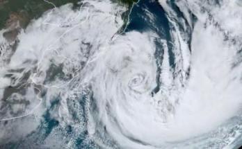 Novo Ciclone em SC com ventos menos intensos