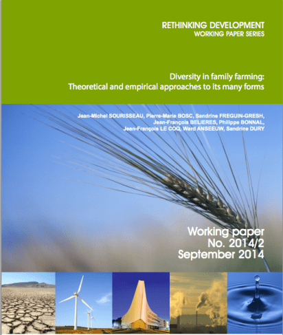 Diversity in family farming: Theoretical and empirical approaches to its many forms