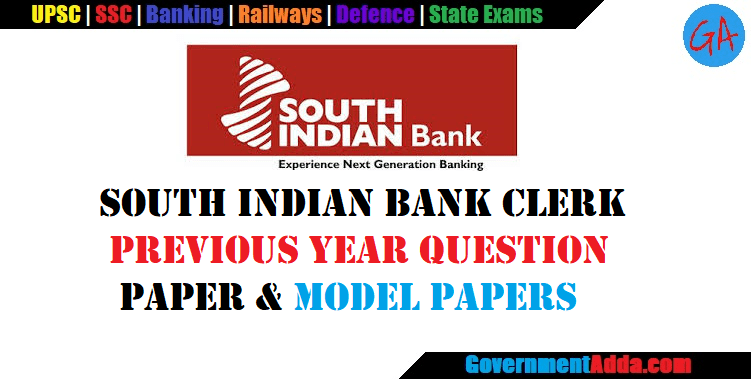 south indian bank po sample question papers