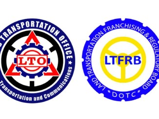 Logo of LTFRB and LTO